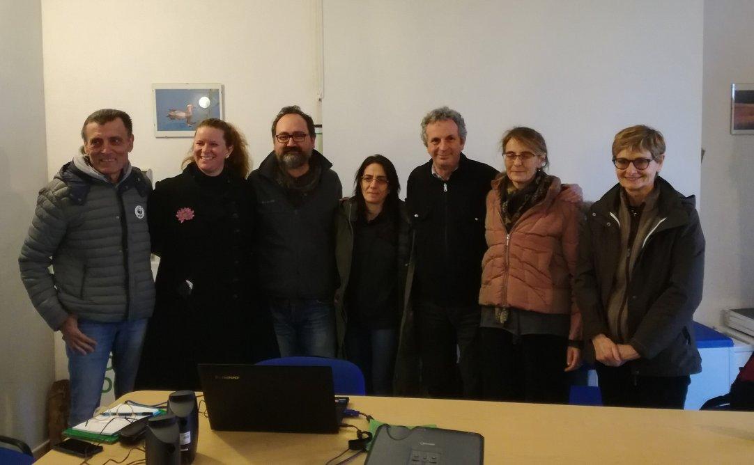 Il gruppo! Remigio, Margherita, Maurizio, Romina, Antonio, Livia ed Anna