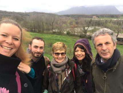 Margherita, Filippo, Anna, Iole, Antonio